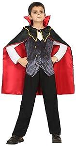 Atosa 18179 Disfraz vampiro 7-9 años, talla niño