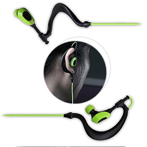 AUSDOM S09 In Ear Kopfhörer Bluetooth Sport Stereo Headset Ohrhörer Wasserdichte mit Mikrofon für iPhone, Android Smartphone - 3