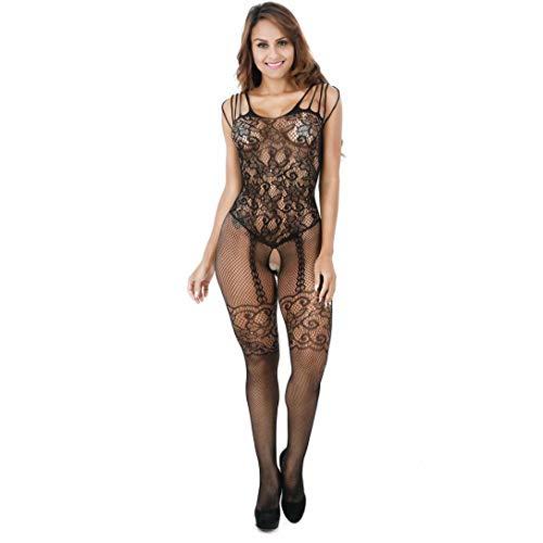 grossiste dc077 86d93 MORCHAN Robe en Dentelle pour Femmes Body Lingerie Nightwear sous-vêtements  Babydoll Sleepwear