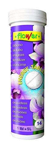 Flower-10829 nutrisol energy tablet Orchidées 14 barres