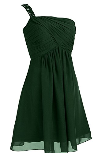 Missdressy - Robe - Trapèze - Femme Vert foncé
