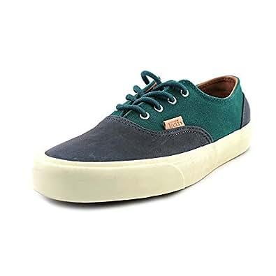 Vans era decon cA pour femme-cuir nappa bleu chaussures de sport, chaussures taille neuf eU 37