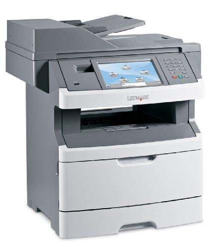 Lexmark X464de Multifunktionsgerät (Monochrome-Laserdrucker, Scanner, Kopierer, Fax)