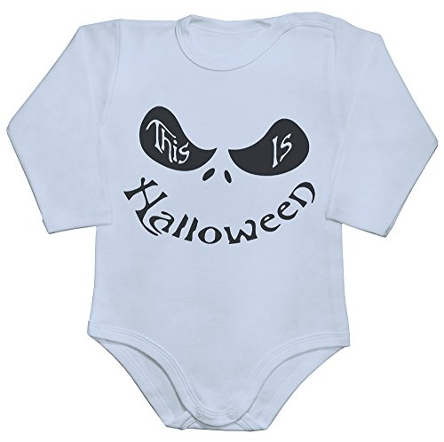 by Romper Long Sleeve Bodysuit Babyspielanzug Large ()