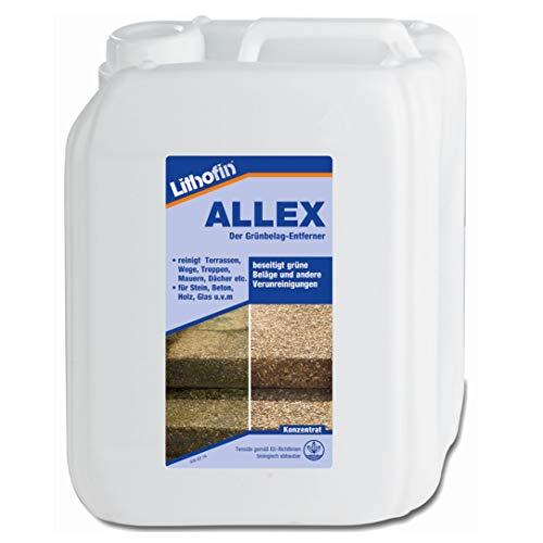 Lithofin ALLEX Grünbelagentferner 10 Liter