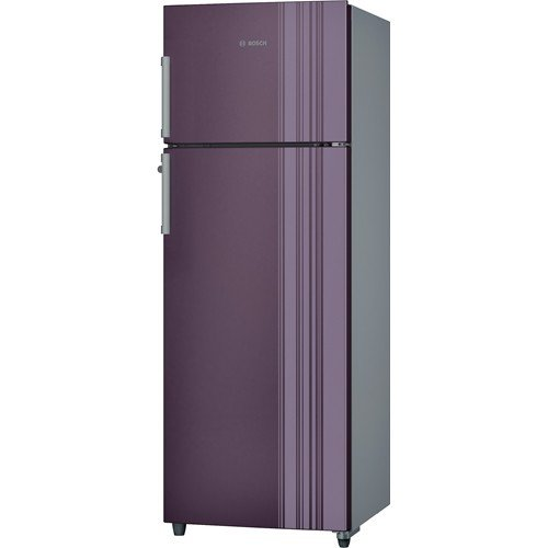Bosch 347 L 3 Star Frost-Free Double Door Refrigerator (KDN43VR30I, Chrome Inox...