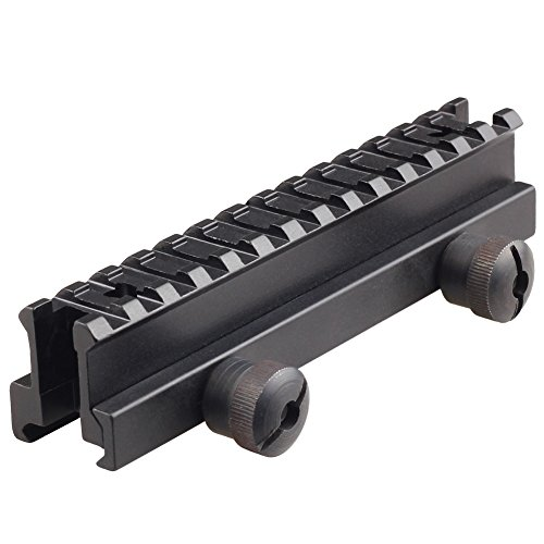 - Schienen-montage (VERY100 21mm Weaver Picatinny Schiene Verlängerung Erhöhung Zielfernrohr Montage RSM05)