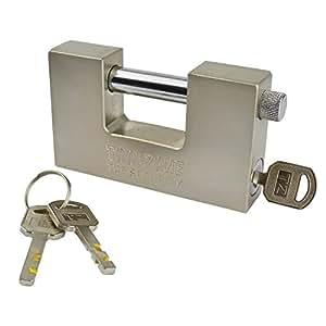 Cadenas de sécurité en acier avec cadenas à volet TE722 conteneur porte cadenas rotatif 100 mm