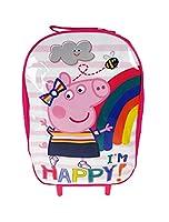 Peppa Pig Wheeled Bag Children's Luggage, 38 cm, 8.5 Liters, Pink