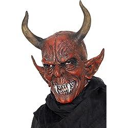 Máscara de demonio infernal