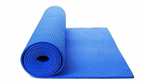 Tappetino yoga tappeto palestra fitness aerobica pilates ginnastica materassino colore blu p30