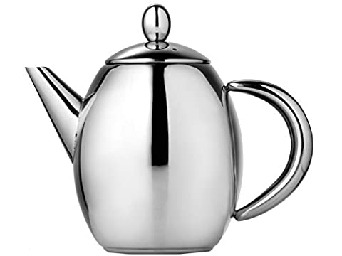 Creative Tops 1500 ml Stainless Steel La Cafetiere Paris Teapot with Infuser Basket, Multi-Colour