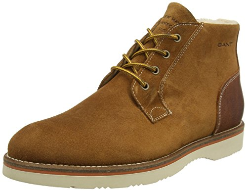Gant Shoes Huck, Stivaletti Uomo, Brown (G45 Cognac), 40 EU