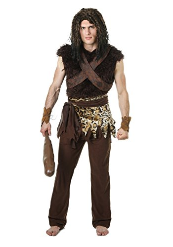 Plus Sized Caveman Fancy dress costume 2X (Caveman Erwachsene Plus Kostüme)