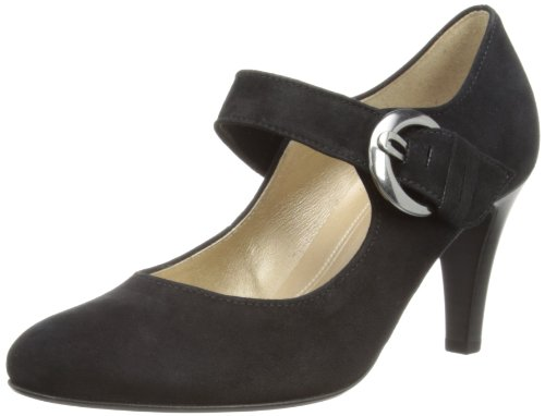 Gabor Shoes 85.211.17 Damen Pumps, Schwarz (schwarz (LFS rot)), EU 38.5 (UK 5.5) (US 8)