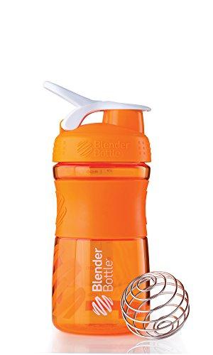 blender-bottle-sportmixer-proteine-shaker-bouteille-deau-orange-transparent-590-ml