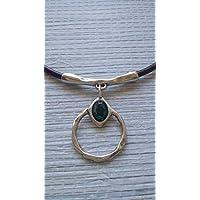 22115dc2019e Amazon.es  collar cuero mujer  Handmade