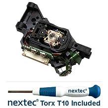 Nextec® Microsoft Xbox 360 Lettore Lente Laser Ottica - Liteon DG-16D2S/ BenQ VAD6038 (HOP-141X 14XX 141B) + Cacciavite di Sicurezza Torx T10