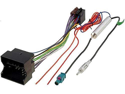 Kit Fiche ISO autoradio pour Opel ap05 et Adaptateur Antenne ADNAuto