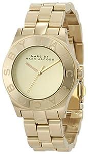 Marc Jacobs MBM3126 - Reloj con correa de acero para mujer, color dorado / gris de Marc Jacobs