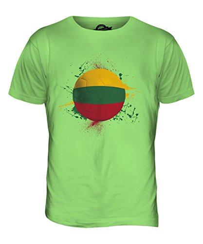 CandyMix Litauen Fußball Herren T Shirt Limettengrün