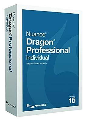Dragon Professional|Individual 15|1 appareil||PC|Téléchargement de NUANCE - Logiciels