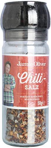 Jamie Oliver Chilisalz Mühle 50g