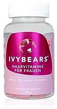 IVYBEARS sind Haarvitamine die nicht nur süß aussehen, sondern auch köstlich schmecken. IVYBEARS enthalten Biotin, Folsäure, Mineralstoffe und zahlreiche Vitamine, die zur Erhaltung und Wachstum von gesundem Haar erforderlich sind. Biotin und Zink tr...