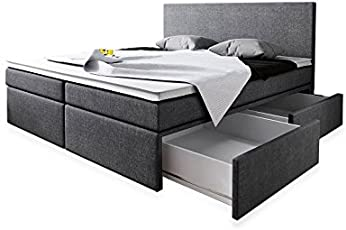 Boxspring bett holz bettkasten  Amazon.de | Boxspringbetten