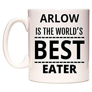 ARLOW is The World's Best Eater Mug by WeDoMugs®