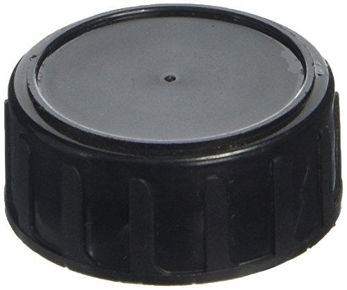 DUTSCHER 063483 Deckel aus Polypropylen für 100 ml Flasche, mit PE-Schaumdichtung, schwarz