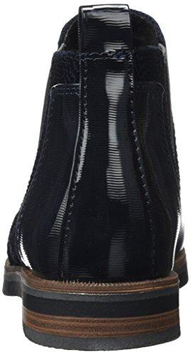 Marco Tozzi Damen 25335 Chelsea Boots Blau (Navy Antic Com)