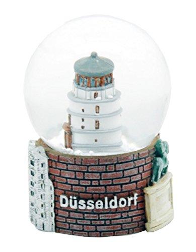 30046 Souvenir bola de nieve Alemania Düsseldorf Burg Torre - 45 mm