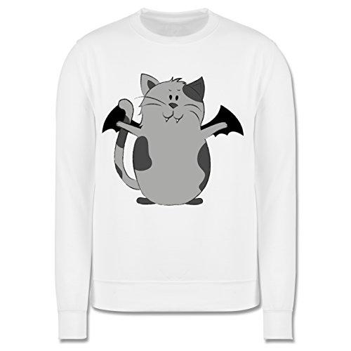 Anlässe Kind - Katze Halloween - 12-13 Jahre (152) - Weiß - JH030K - Kinder (Kostüm Böse Wildkatze)