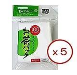 5x 100piezas desechables bolsas de filtro para té suelto–tipo duro