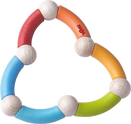 Haba 3868 Greifling Farbenschlange, Kleinkindspielzeug