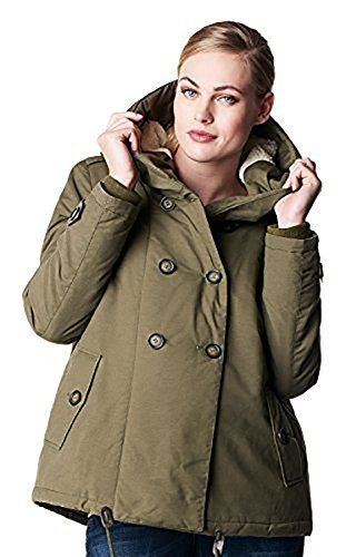 Noppies Winterjacke mit Kapuze Umstands- Jacke Winter Damen Umstandsmode Jacken/Mantel 50690