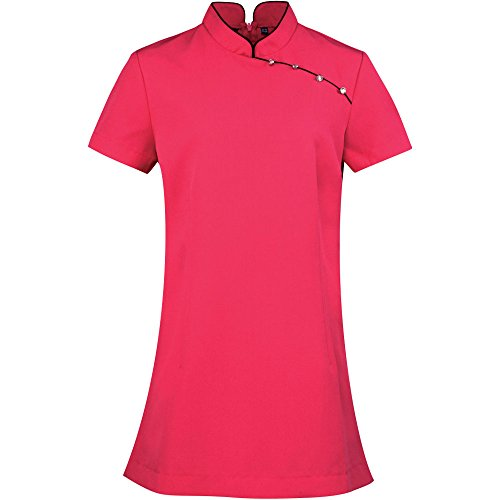 Premier Womens/Ladies Mika Beauty & Spa Uniform Mandarin Collar Tunic