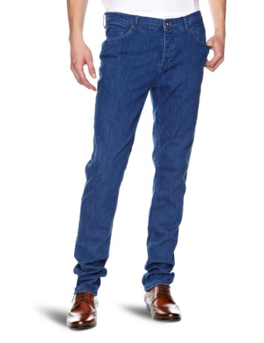Selected - Jeans, skinny fit, uomo Blu (Denim)