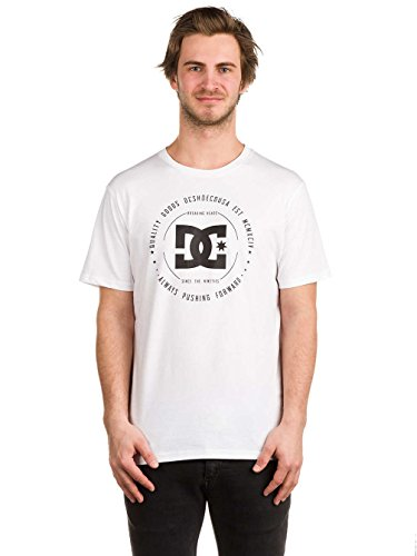 DC Apparel Herren 2 Ss Rebuilt-T-Shirt Bright White/Solid