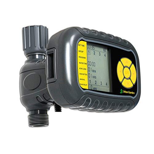 ZYYBRE BewäSserungscomputer: Solar Battery Timer,Digitale BewäSserungsuhr FüR Automatische BewäSserung (Wasserschaltuhr) - Heiß-wasser-filter-bildschirme