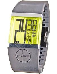 Philippe Starck PH1101 - Reloj para hombres, correa de plástico color gris