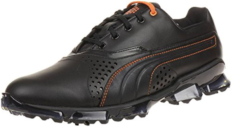 Puma Titantour King Men Golfschuhe Golf schwarz leather 188055 02, pointure:eur 45