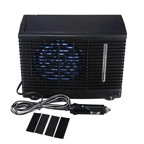 Preisvergleich Produktbild Auto Ventilator Tragbare mini auto klimaanlage hause auto kühler lüfter wasser eis verdunstungs auto klimaanlage schwarz