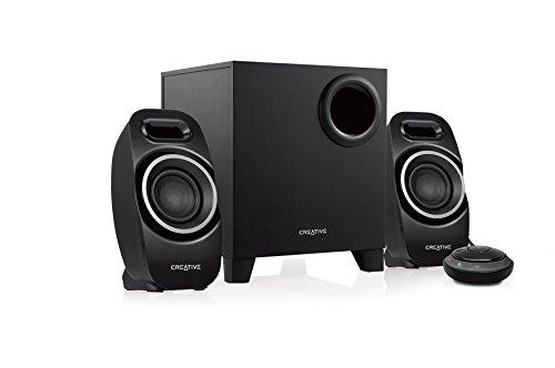 Creative T3250 Wireless 2.1 Bluetooth Wireless Speaker System (Black)