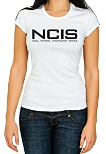 NCIS Woman Top High Qualtiy T Shirt 3/4 Sleeve Cotton Crew Neck