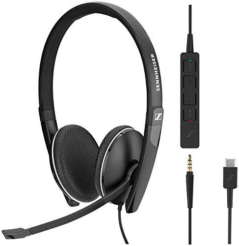 Sennheiser SC 165 Headset USB-C Duo 508356 thumbnail
