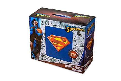 DC Comics Superman Luxus Super Weich Plüsch Decke