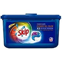 Skip Ultimate Triple Poder Cuidado del Color Detergente Cápsulas para Lavadora - Paquete de 3 x