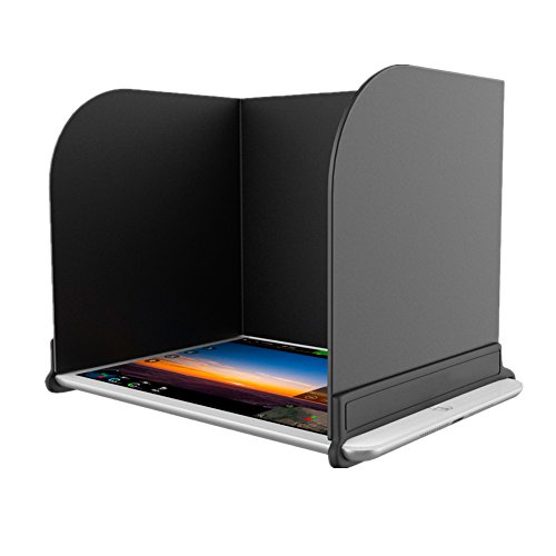 Meijunter Fernbedienung Telefon Monitor Tablette iPad Sun Kapuze Sonnenschirm Sun Shade Haube Cap Protector für DJI Spark/MAVIC PRO/Inspire/Phantom 3/4/4 Pro/OSMO(Device Größe zwischen 168 und 200mm)